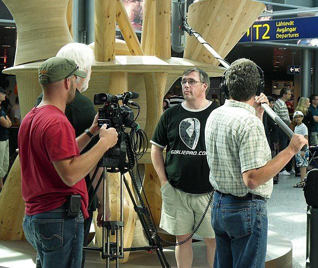 Goaliepro mukana Kanadan TV:n olympiaohjelmassa- Goaliepro interviewed for Canadian TV