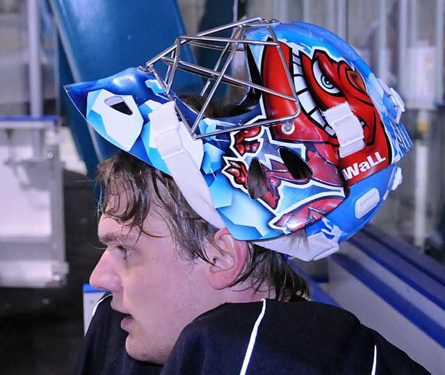 Uusia maskeja toimituksessa – New masks just delivered – ZSC Lions / Lukas Flueler – RIT Tigers / Jan Ropponen – AK Bars Kazan / Petri Vehanen