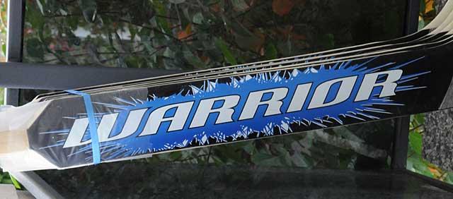 Warrior MV-mailoja Goaliepron mitoilla sekä custom toimituksia