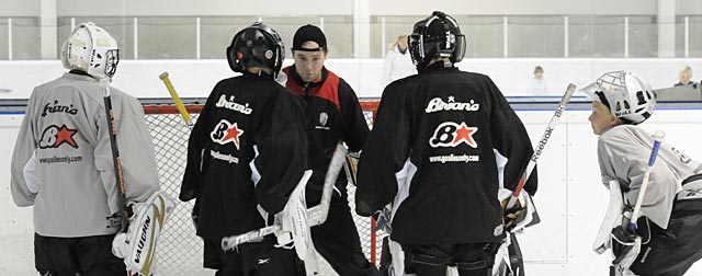 GoaliePro mentoring program for goalie coaches 2014