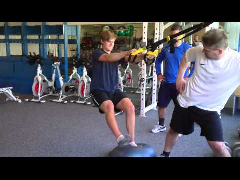TRX Training for goalies – Lower body workout # 3