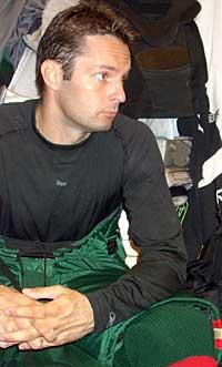 Niklas Bäcström kertoo harjoittelusta ja ravinnostaan