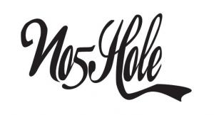 no5hole script logo