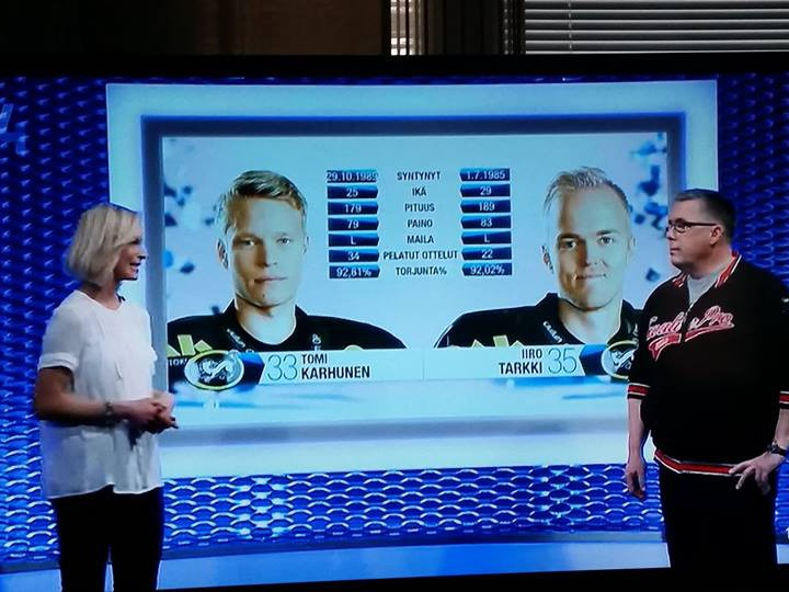 GoaliePro talking about goalie coaching on Finnish TV