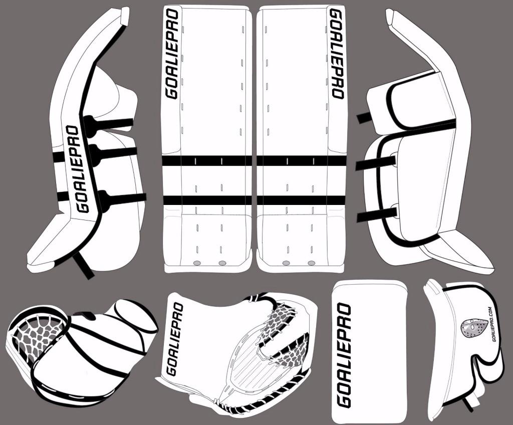 GoaliePro Butterfly design