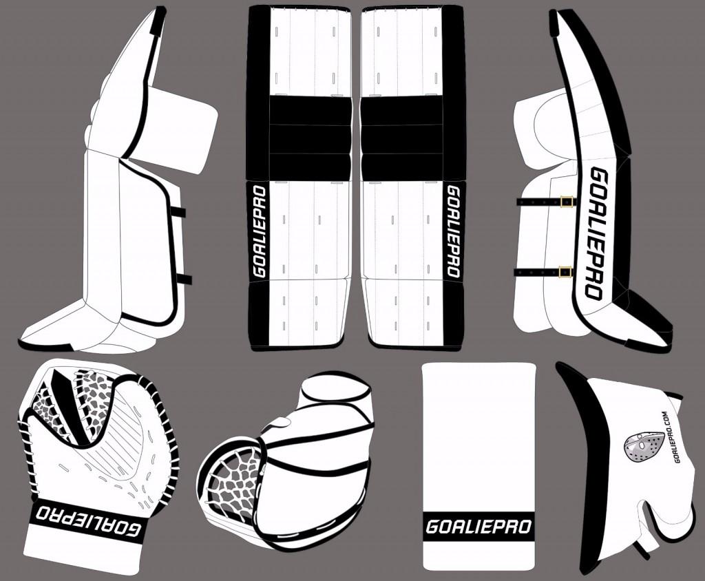 GoaliePro Hybrid design