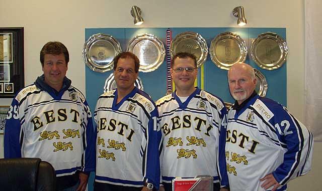 Goaliepron valmentajat vierailulla Virossa – Goaliepro coaches visit to Estonia
