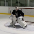 Goalie drill example skating / conditioning