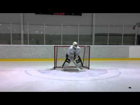 Goalie drill – Lateral movement