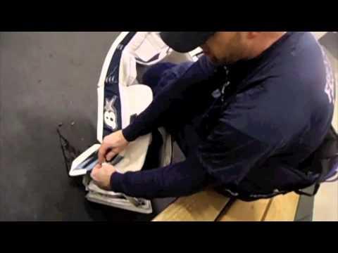 How to strap SubZero pads