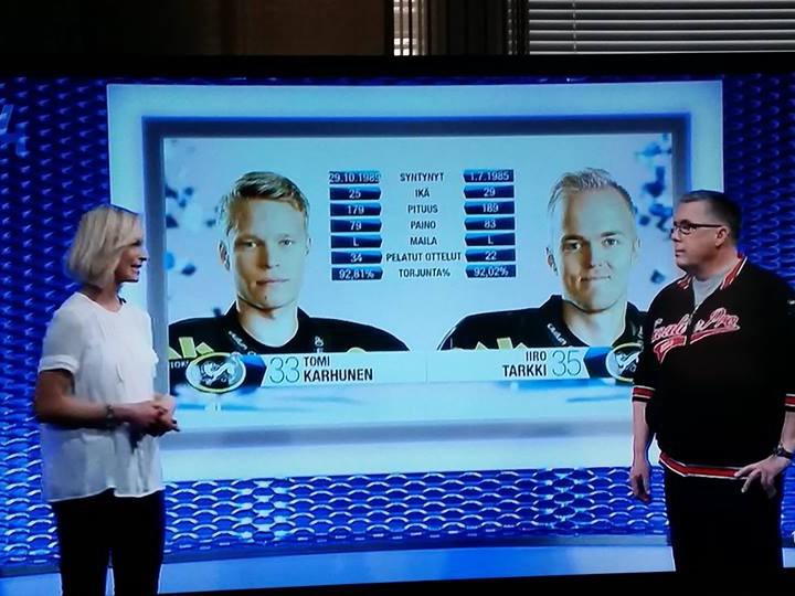 GoaliePro talking about goalie coaching on Finnish TV