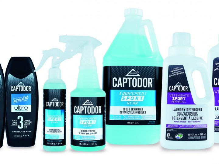 Captodor brings full sports hygiene product line to Nordics with GoaliePro